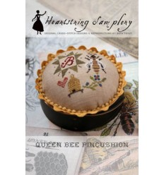 Queen Bee Pincushion - Heartstring Samplery