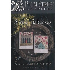 Autumn Saltboxes - Plum Street Sampler