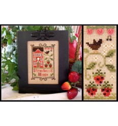 Snow Village - Banner- Country Cottage Needlework
