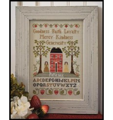 Rose Hill Plantation by Little House Needleworks