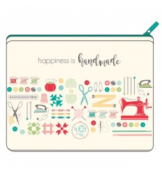 Pochette couture Happiness is Handmade