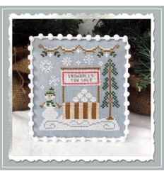 Snow Village -snow boutique - Country Cottage Needlework