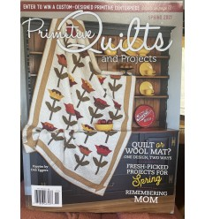 Primitive Quilts and Projects Spring 2021