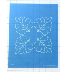 Full Line Stencil Quilting Overall Swirl
