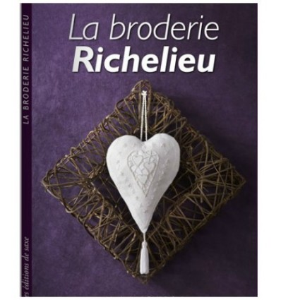 La broderie richelieu atelier patchwork et point compt - Edition de saxe ...